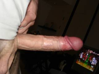 That I bet that nice, thick, hard, white cock looks so tatsy.  I bet it would feel great stretching my tight, little wet, asian kitty too(^_~)