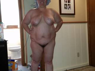 Love her big saggy udders and belly , very sexy