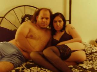 I am bi-sexual and I want to give both of you all thwe wonderful sex I possibly can.  I am very oral both sucking cock and eating pussy is my favorite activity.  You two have wonderful bodies.