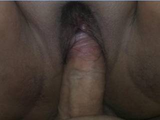 Nancy's small and tight wet pussy getting my cock