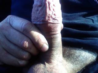So hard so horny waiting for that special lady to slide on down any women out there would like to try me on for size