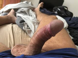 Who wants to play with my dick?