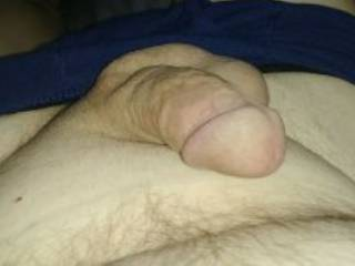 just a cock waiting to be used