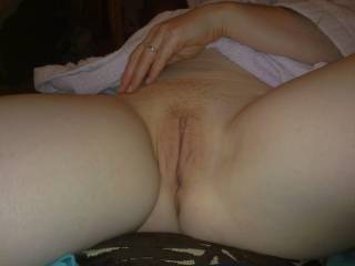 Love a nice smooth pussy under my tongue.