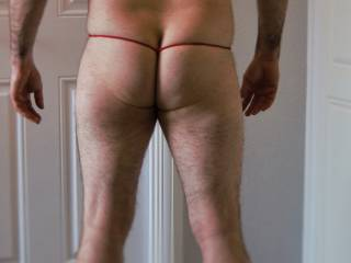 fun in my little red thong