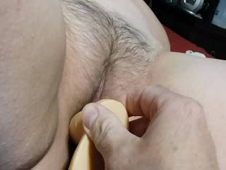 A dildo gangbang, a creampie from hubby, getting the cream churned. What part would you like to play?