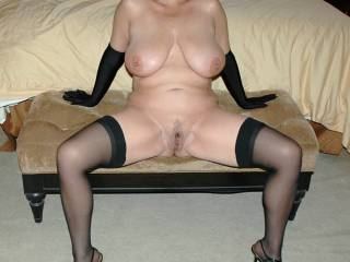 Heels, Hose, Gloves and Spread