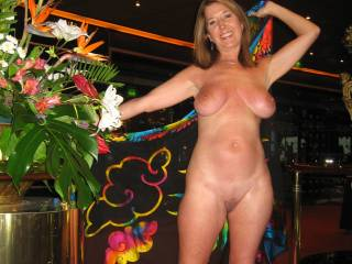 Again naked on the ship. Let us know what you think and also if you like check out our Valentine pic. We love hearing from you!