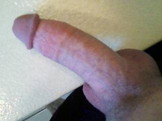 THAT is one very suckable, irresistable and delicious looking cock and balls you have!!! ;-P