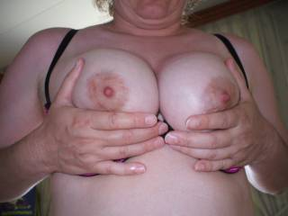 i want to rub the soft tip of my hard cock on your sweet nipples