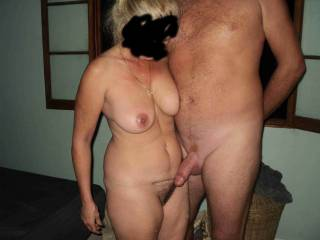 I love your pic and I dream to be naked with you and show my cock near your so exciting body even if my cock is not so big as him but I hope you would like to see my small cock with you