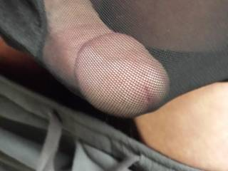 I will use my teeth to free your cock and balls from your undies.  I will use my lips, tongue and throat to free you of your cum.
