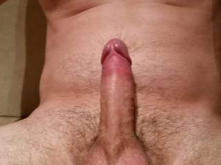 A nice shot of my hard dick