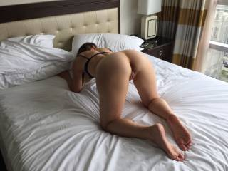 Just another of her hot ass. I just love to show her off and she loves to know everyone is looking at her!!