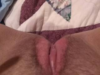 Wife wants to show her pussy off.