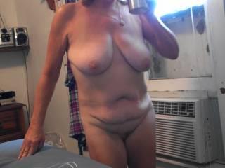 Wife takes dildo up ass to keep job