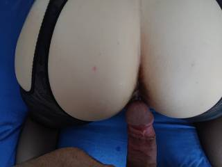 Hot sunday with wife at home
