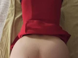 tonight is our first meeting birthday...doggy with her skirt, somme reverse cowgirl and toys...I cum quickly this time!