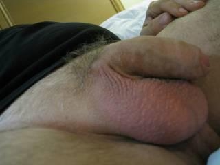 Dam man those are some big balls.....