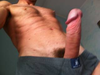 Wow yes you are and I would love to see my wife kiss, lick and suck that sexy cock before letting you fuck her any way you wanted to. Fuck that would be so sexy to watch you pleasure my randy little wife