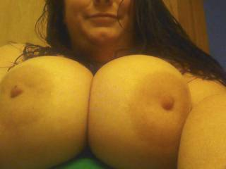 Anybody out there like my big titties?  What would you like to do with them?