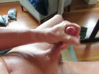 I bet you make a lot of guys and gals cum from watching you masturbate.  I sure enjoyed watching you cum.  That's a delicious cock.  MILF K