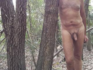 It is such a great feel to wonder around naked in the woods without worrying that some one will come along, unless it were some one from Zoig,  that would be cool.
