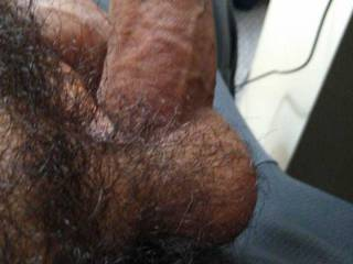 Masturbating session