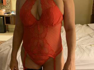 New lingerie. This will get hubby hard!!😉