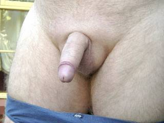 Dick up close