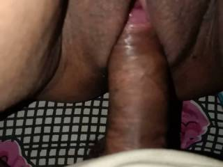 Fucking my wife at night home made
