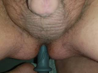 Playing with my dildo