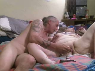 playing with sexy wife