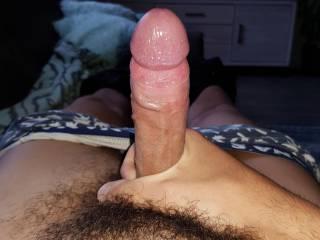 My hard wet cock needs some love