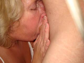 She is exceptionally good, dang I'd like to have sex with you two.  How does her pussy taste?  Have you ever seen her eat another woman's pussy?  Man I love watching womern in sexual play and pleasure with each other.  When I wasd 15 4 bi-sexual neighborhood women who played together several hour 2 or more times a week, took me in to their play room and started my sex education which they continued through my 1st 2 yrs in college.  God it was wonderful and I believe I experienced just about everything.