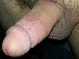 That is a delicious looking cock and balls you have ;-P ;-P