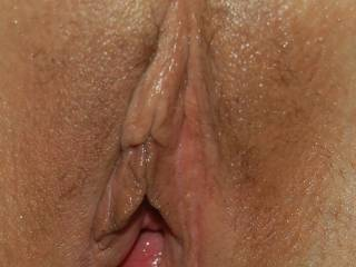 well-used pussy leaking cum