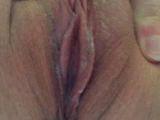 Omg...I wish I can rub my morning wood against your beautiful pussy to welcome back