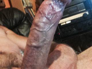 I felt so Horny, My Cock was ready to explode with My Hot, Creamy Spunk. Do You like My Hard, Veiny Cock ?