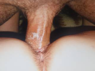 Using that pussy for what it\'s worth....need a bigger cock in it