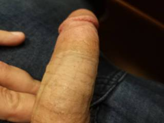 Just a peek at my soft dick