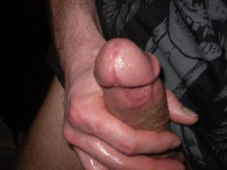 I'd like to watch that thick cock stretching my wife's pussy