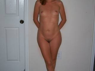 You've got a very nicely shaped and sexy looking body! Your pussy is so perfect, it makes my mouth watering just to thing about lick it!