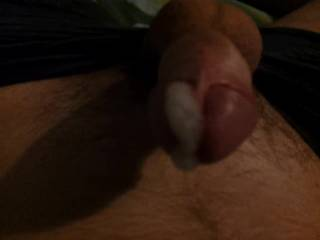 just got horny and start wanking on top of my bed,also would u lick the cum off my cock at the end of this video  plzs comment