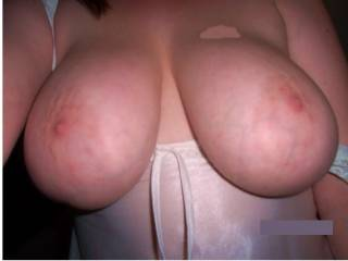 My womans big juicy tits!.