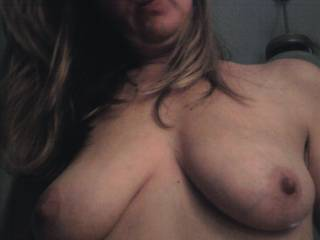 I would look up at you with lush in my eyes and passionately rub your titties as you rode me!