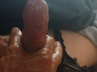 nice job so much cum we love to lick it all off  ops my wife does I can not lie I would help