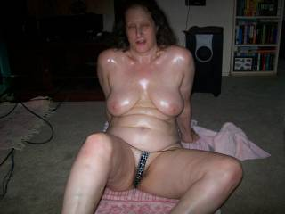 wife naked at friends party.