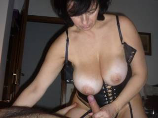 she truly knows to handle a hard cock