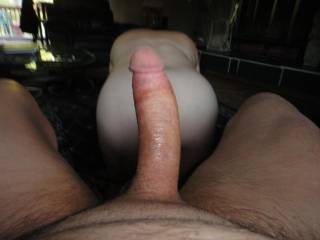 she creamed white thick pussy juice and left it all over my cock them waited to be fucked
